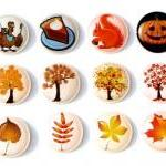 Autumn Fall Season - 12 Pcs Home Bu..